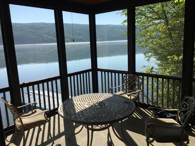 Photo for BEAUTIFUL LAKEFRONT HOME ON SKANEATELES LAKE