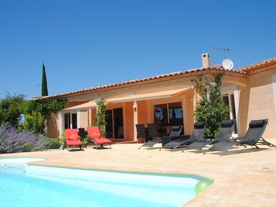 Photo for Villa indiv quiet pisc heated near Uzes, serenity and rest