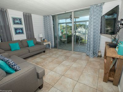 Photo for DP105C - Renovated 2 BR on the Harbor with short walk to the beach