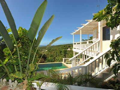 The view, the decks, the pool!