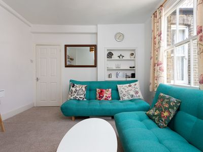 Photo for 2 Bedroom Flat In South London  - Two Bedroom Apartment, Sleeps 4