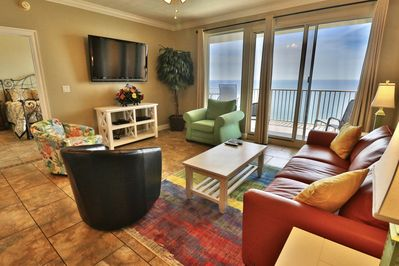 Living room with access to the balcony!