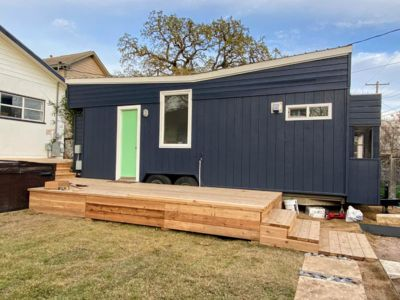 Photo for Clean, HGTV Tiny Home w/ HOT TUB - 1 Mile to Downtown