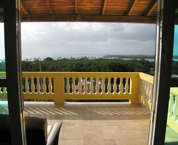View from Master Bedroom