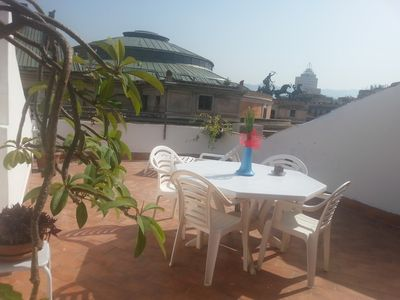 Photo for Sweet Politeama, Independent room with bathroom and terrace in the center of Palermo
