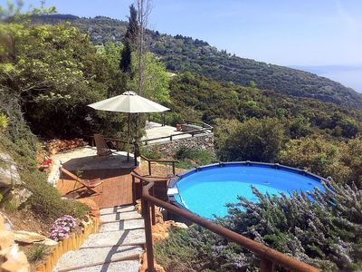 Photo for Villa Nileias is the perfect hideaway if you seek tranquil settings upon your escape to Greece. This