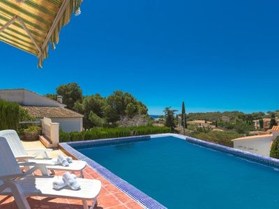 Photo for Casas Playas Villa, Sleeps 7 with Pool, Air Con and WiFi