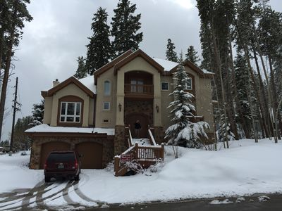 Photo for Luxurious Peak 8 Home: Ski In / 1 Block From Shuttle To Mtn & Town, Sleeps 12+