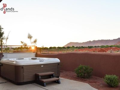 Photo for 120 | PRIVATE HOT TUB, PING PONG, PS4, 4 BIKES, GAMES, MOUNTAIN VIEWS, AND MORE!