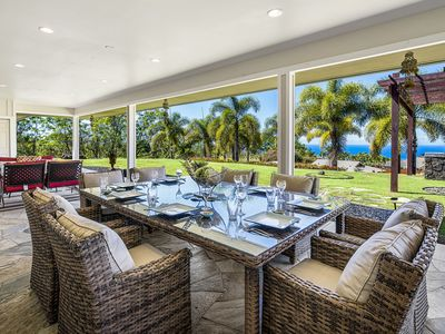 Photo for Elua Honu Hale located in the lush hills of Kona with views of the Kona Coast!