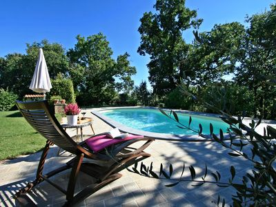 Photo for Cozy pet friendly private pool cottage in Tuscany