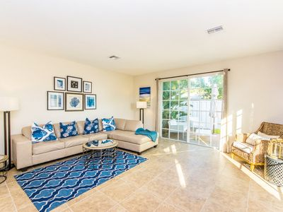 Photo for Spacious 3BR Townhome w/ Pool, Hot Tub, Private Patio – Near Beach, Dining