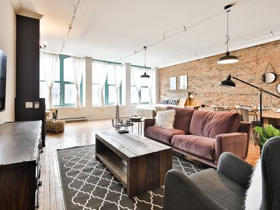 Photo for Mediterranean Inspired Loft Heart Old Montreal