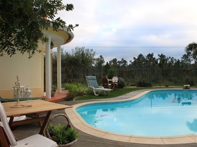 Photo for Charming Villa for FAMILIA - Pool, Spa, best beaches, golf, 20min. Lisbon