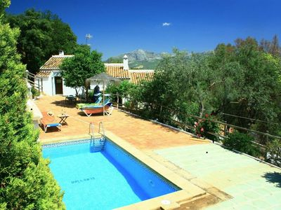 Photo for Rural and rustic farm with privat pool near Casabermeja and Montes de Málaga