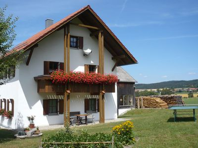 Photo for Quietly located holiday flat on the outskirts of Tiefenbach in the Upper Bavarian. Forest