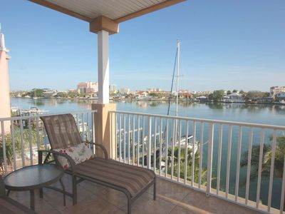 Photo for Waterfront, Balcony with Dining, Pool, Free Wi-Fi & Cable, W/D, Beach Chairs & Cart – 301 Island Key