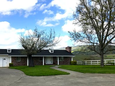 Photo for Beautiful Views from this Gated Estate Seven Acre Property - Close to Town