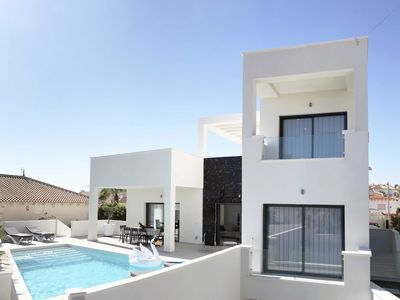 Photo for CASA BLANCA Superb modern villa with private pool on the Costa Blanca