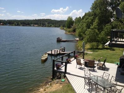 Photo for Lakefront property close to town
