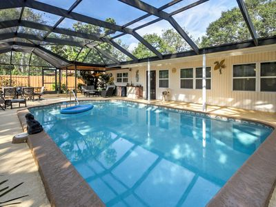 Photo for Sarasota Home w/ Private Pool & Patio Near Beach!