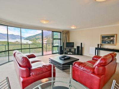 Photo for Stunning Lake Views in a stylish apartment