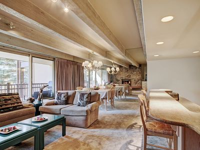 Photo for Tranquil 2Br Condo next to Eagle River in the Heart of Vail