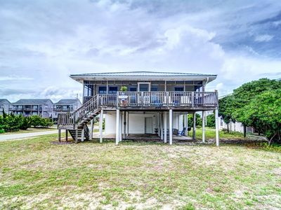 Photo for MCGUIRT: 3 BR / 2 BA second row ocean view dogs in Topsail Beach, Sleeps 6