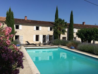 Photo for An exceptional longère located near one of the most beautiful villages of Charente