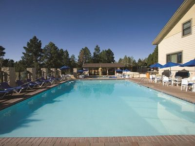 Photo for Spacious Condos at 2,200 Acre Resort w/ Free WiFi, 2 Outdoor Swimming Pools, Outdoor Hot Tub & Tennis Courts