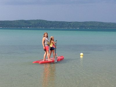 No weed, sandy fun at the beach (Sorry,  SUP unavailable)