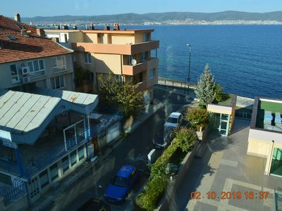 Photo for Nessebar VIP Apartment 511 with seaview and town view, 100m awy the sea beach