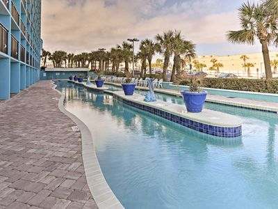 Photo for Oceanfront Myrtle Beach Resort Condo-Pools & Bars!