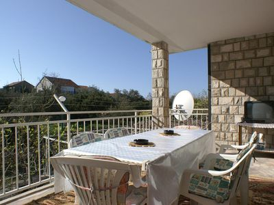 Photo for Two bedroom apartment with terrace Podaca (Makarska)