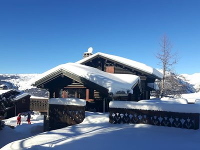 Photo for Les Eterlous - Beautiful Chalet 200m from the slopes of La Plagne - 12-15 pers.