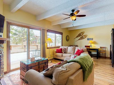 Photo for Remodeled condo w/ private patio & gas grill plus shared, indoor pool & hot tub