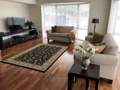 Lounge with comfortable seating,  large Smart TV & Ultra-Fast Internet