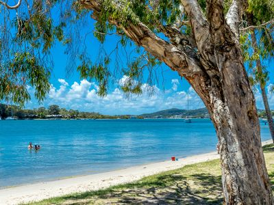 Photo for Aarons Villa 1 River front apartment Noosaville