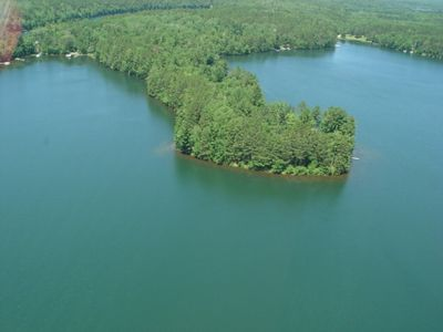 Photo for Private Lakefront Home on Peninsula of Pristine Big Bass Lake