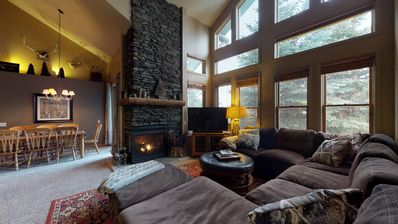 Photo for Snowcreek 870-Rustic mountain charm in this Snowcreek condo with views!