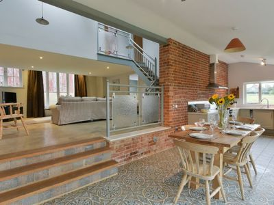 Photo for The Dairy is a fantastic, refurbished holiday cottage with three double bedrooms,