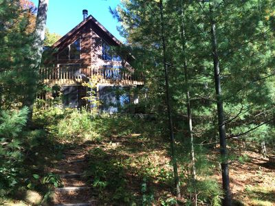 Photo for Civilized 4 BR Lake Home in North Wisconsin Woods