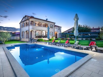 Photo for Beutiful holiday home in peaceful town with pool and barbeque