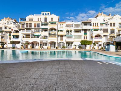 Photo for Lovely Apartment in Roquetas De Mar with Balcony