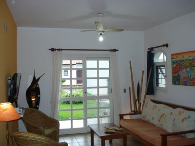 Photo for apt in resort on the beach, direct exit to the sea. Pools, tennis, cleaning.