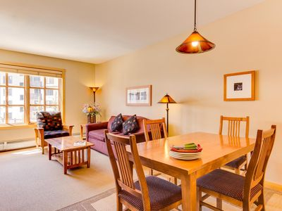 Photo for CopperMtn - PP306. Ski mountain views, hot tubs, fitness room!