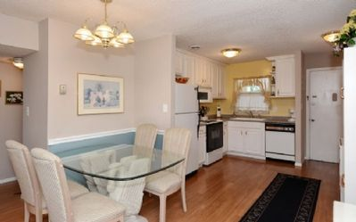 Photo for Two Bedroom, One Bath condo is just steps to the white, powdered sugar sand of Siesta Key