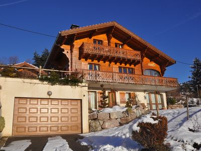 Photo for Very nice cottage in the hills of Bernex, great view, very clear