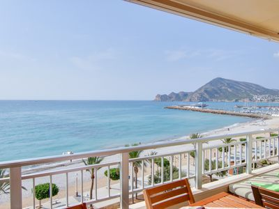 Photo for Blossom Apartment @Girasol, On the Beach Front