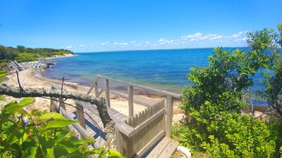 Photo for **FABULOUS Makonikey OCEANFRONT With Private Beach !** Wrap Around Deck, Pets Ok
